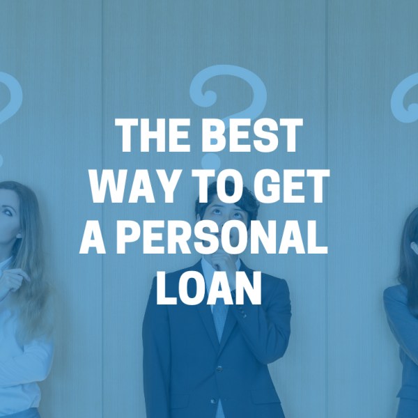 best way to get a personal loan