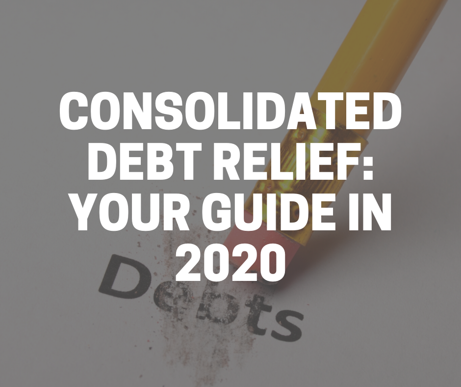 consolidated debt relief